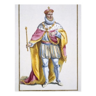 Philip II (1527-98) King of Spain from 'Receuil de Postcard