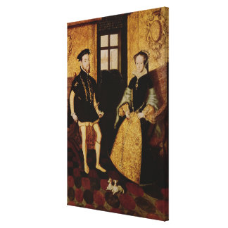 Philip II and Mary I, 1558 Canvas Print