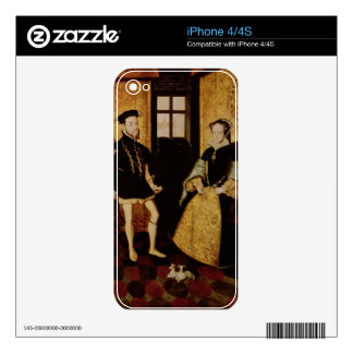 Philip II and Mary I, 1558 Decals For The iPhone 4