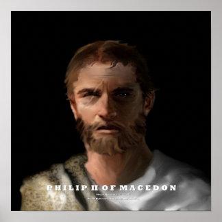 Philip II of Macedon poster
