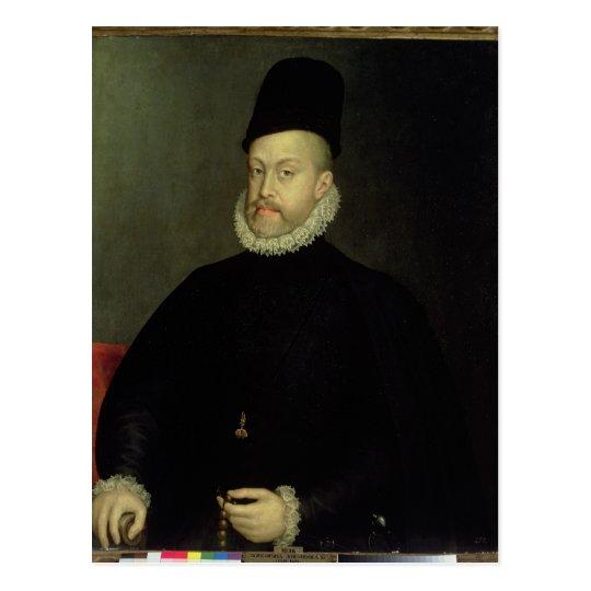 Philip II of Spain  1565 Postcard