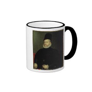 Philip II of Spain  1565 Ringer Mug