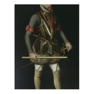Philip II  of Spain Post Card