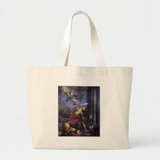 Philip II Offering Don Fernando to Victory Titian Jumbo Tote Bag
