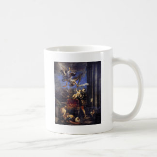 Philip II Offering Don Fernando to Victory Titian Coffee Mug