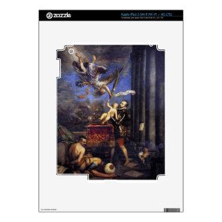 Philip II Offering Don Fernando to Victory Titian iPad 3 Skin