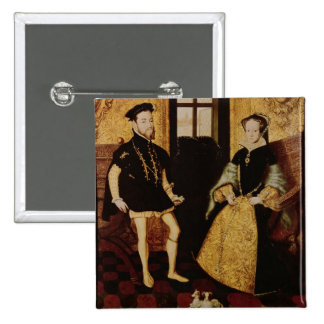 Philip II y Maria I, 1558 Pin