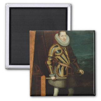 Philip III  King of Spain, 1606 Magnet