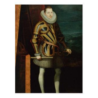 Philip III  King of Spain, 1606 Postcard
