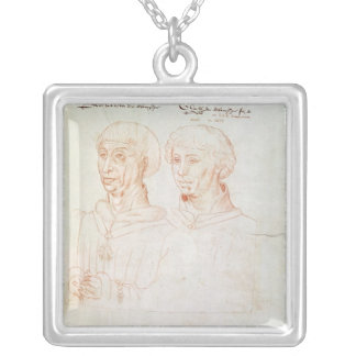 Philip III the Good Silver Plated Necklace