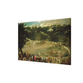 Philip IV Hunting Wild Boar , c.1632-7 Gallery Wrapped Canvas