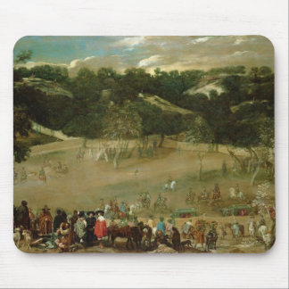 Philip IV Hunting Wild Boar , c.1632-7 Mouse Pad