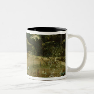 Philip IV Hunting Wild Boar , c.1632-7 Two-Tone Coffee Mug