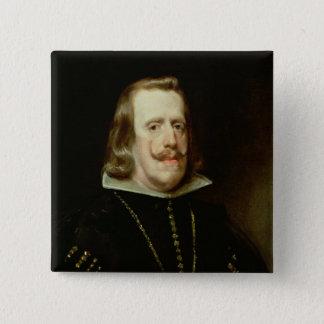 Philip IV  of Spain, c.1656 Pinback Button