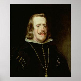 Philip IV  of Spain, c.1656 Poster