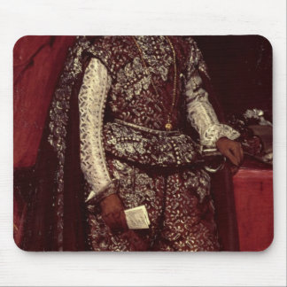 Philip IV  of Spain in Brown and Silver Mouse Pad