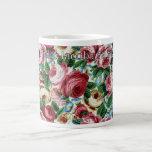 "Philip Jacobs Fabric ""Glory Rose"" Mug Jumbo Mugs"