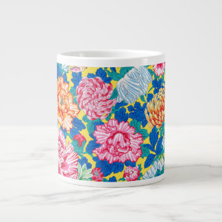 Philip Jacobs Fabric Hiroshige Jumbo Mug 20 Oz Large Ceramic Coffee Mug