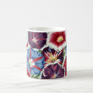 "Philip Jacobs Fabric ""Moon Flower"" mug. Coffee Mug"