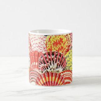 Philip Jacobs fabric Scallop Shells Mug