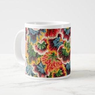 Philip Jacobs Geranium Leaf design Large Coffee Mug