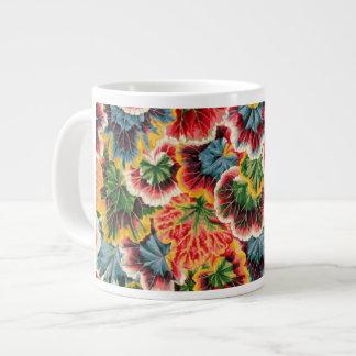 Philip Jacobs Geranium Leaf design Extra Large Mugs