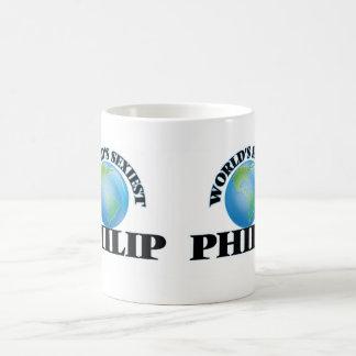 Philip más atractivo del mundo taza