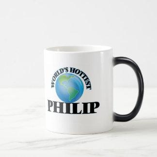 Philip más caliente del mundo taza mágica