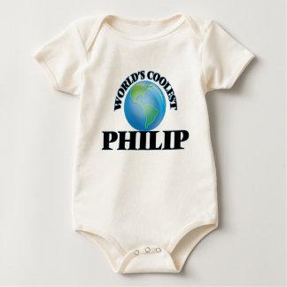 Philip más fresco del mundo traje de bebé