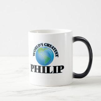 Philip más grande del mundo taza mágica