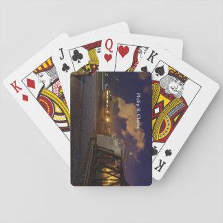 Philip R. Clarke night playing cards