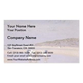Philip Steer- Boulogne Sands. Children Shrimping Double-Sided Standard Business Cards (Pack Of 100)