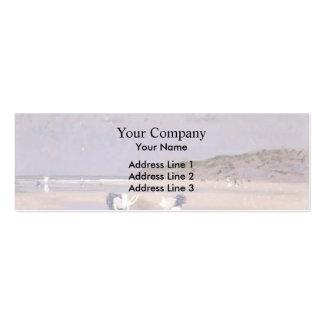 Philip Steer- Boulogne Sands. Children Shrimping Business Card