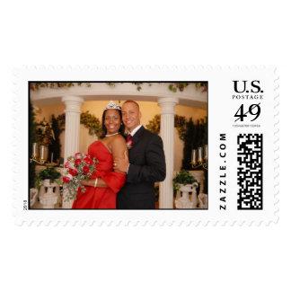 Philip & Tamia's Wedding Stamp