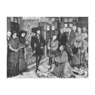 Philip the Good, Duke of Burgundy Canvas Print