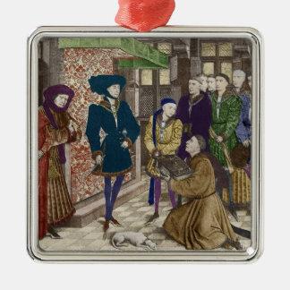 Philip the Good, Duke of Burgundy Metal Ornament