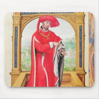 Philip the Good  Duke of Burgundy Mouse Pad