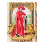 Philip the Good  Duke of Burgundy Postcard