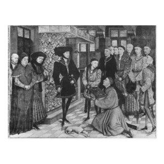Philip the Good, Duke of Burgundy Postcard