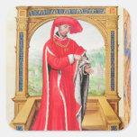 Philip the Good  Duke of Burgundy Square Sticker