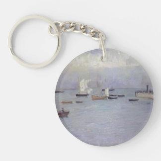 Philip Wilson Steer- Poole Harbour Single-Sided Round Acrylic Keychain