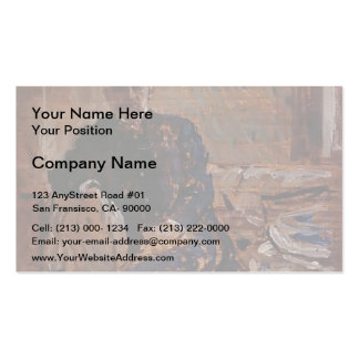 Philip Wilson Steer- Portrait of Francis James Business Card Template