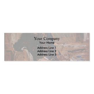 Philip Wilson Steer- Portrait of Francis James Business Cards