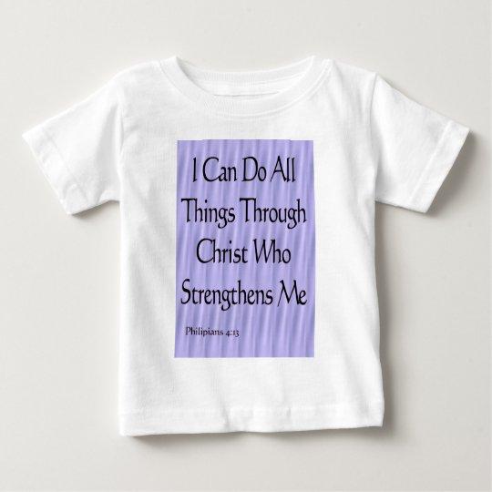 Philipians 4:13 baby T-Shirt
