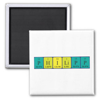 Philipp periodic table name magnet