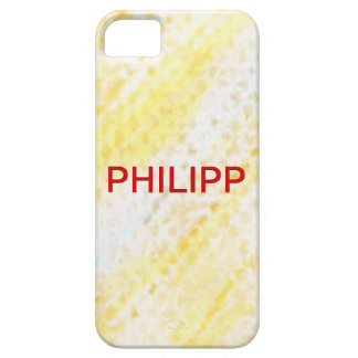 Philipp wraps abstractly, name individually iPhone 5 case