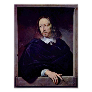 Philippe de Champaigne - Arnauld dAndilly Poster
