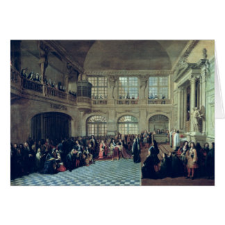 Philippe de Courcillon Marquis of Dangeau Greeting Card