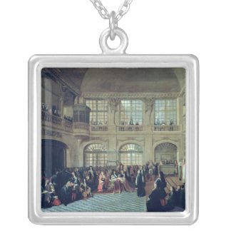 Philippe de Courcillon Marquis of Dangeau Silver Plated Necklace
