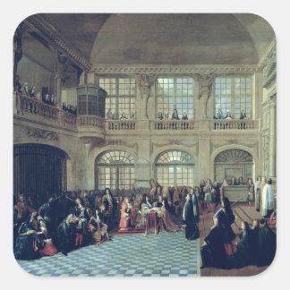 Philippe de Courcillon Marquis of Dangeau Square Stickers
